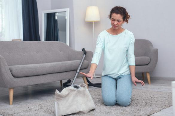 Léčba alergie na prach a pyl vodním vysavačem