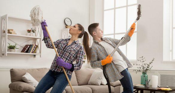Jarní úklid domácnosti snadno a rychle?