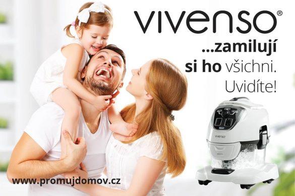 VIVENSO: vysavač, který si zamilují i vaše děti
