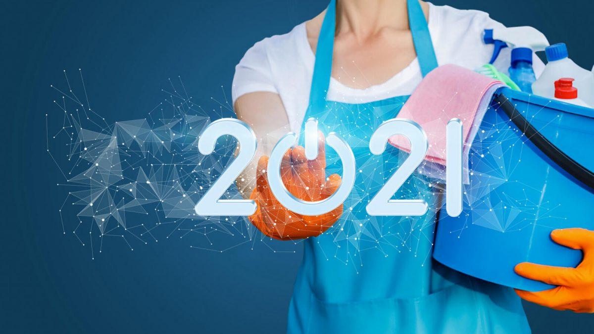 <b>Novoroční úklid</b>? Začněte rok 2021 s čistým štítem