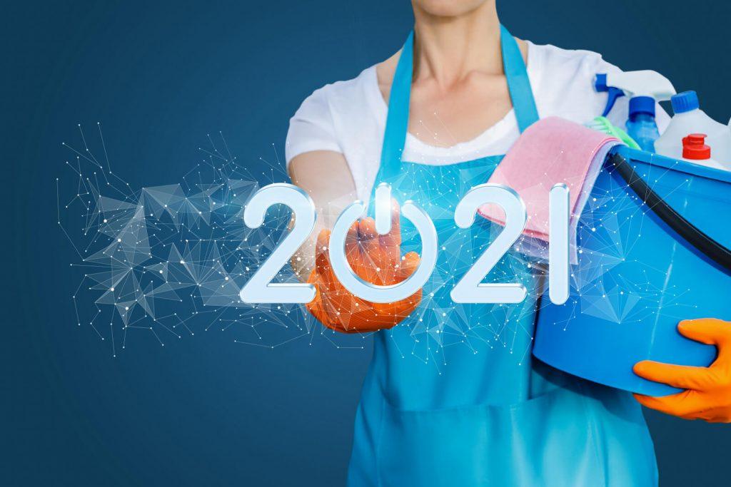 Novoroční úklid? Začněte rok 2021 s čistým štítem